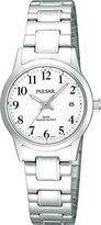 Pulsar Uhren Women's Quartz Watch Klassik PH7145X1 with Metal Strap