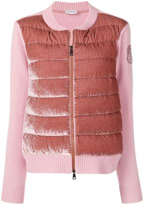 Moncler zipped padded cardigan