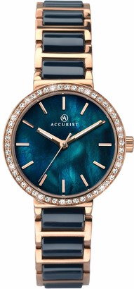 Accurist Women's Analogue Japanese Quartz Watch with Stainless Steel Strap 8087