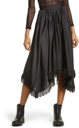 Amy Lynn Dorset Lace Hem Skirt