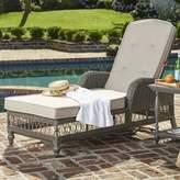 Paula Deen Home Dogwood Chaise Lounge with Cushion Home Fabric: Cast Ash