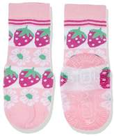 Sterntaler Baby Girls' Fli Sun Erdbeeren Calf Socks,5