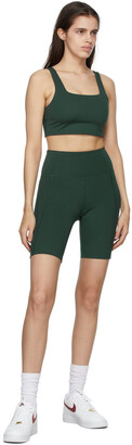Girlfriend Collective Green Tommy Sports Bra