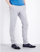 HUGO BOSS Slim-fit cotton-blend jogging bottoms