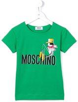 Moschino Kids - printed T-shirt - kids - Cotton/Spandex/Elastane - 4 yrs
