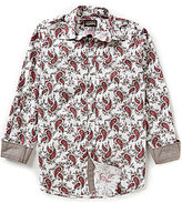Daniel Cremieux Jeans Long-Sleeve Repeating Paisley Print Woven Shirt