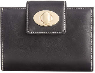 Giani Bernini Turnlock Glazed Indexer Wallet