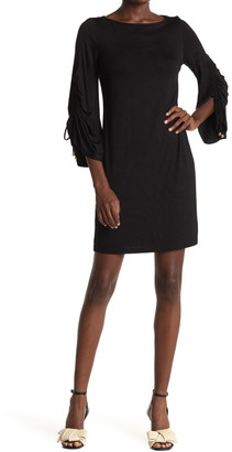 Trina Turk Geyser 3/4 Length Sleeve Dress