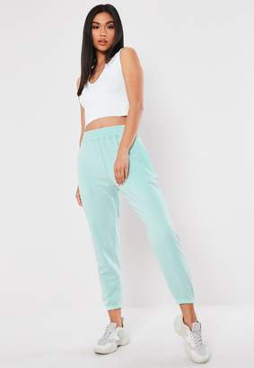 Missguided Tall Blue Basic Joggers
