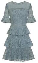 Dorothy Perkins Womens *Girls On Film Sage Green Skater Dress, Green
