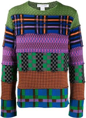 Comme des Garcons Colour-Block Sweater