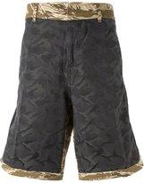 Golden Goose Deluxe Brand camouflage print shorts - men - Cotton/Polyamide - S