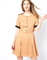 Lovestruck Dress With Contrast Sleeve