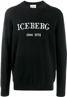 Iceberg logo jumper