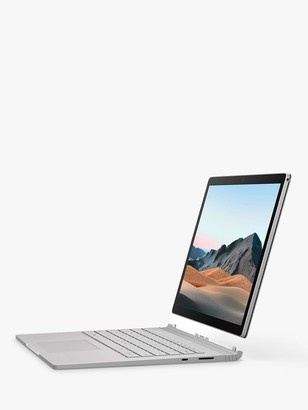 Microsoft Surface Book 3 Laptop, Intel Core i7 Processor, 16GB RAM, 256GB SSD, 15 PixelSense Display, Platinum