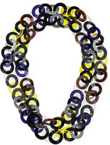 Marni Resin & Horn Chain-Link Necklace