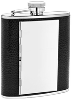 6oz. Flask with Cigarette Case