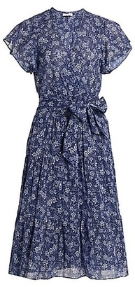 Parker Bessie Floral Wrap Dress
