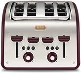 Tefal Maison 4 Slice Toaster - Red