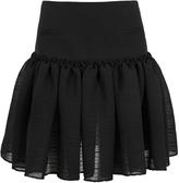 CHRISTOPHER ESBER Ruffled Peplum Mini Skirt