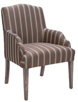Homelegance Accent/Arm Chair (Set of 2), Stripe Fabric