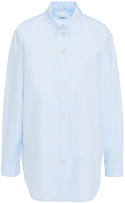 Burberry Embroidered Cotton-poplin Shirt