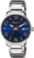 Kenneth Cole Men's Analog Dial Watch Blue