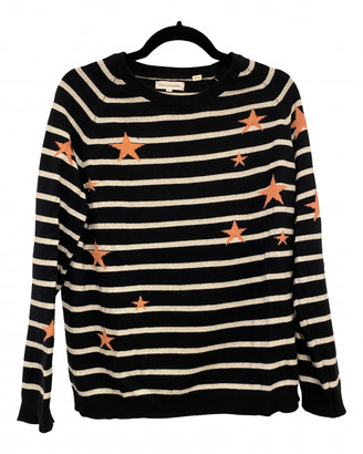 Chinti and Parker Navy Cashmere Knitwear