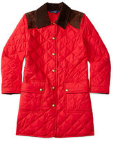 Ralph Lauren Long Snap-Front Barn Jacket