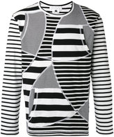 Comme des Garcons striped sweatshirt - men - Cotton - M