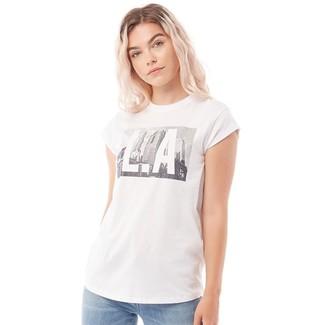 Tokyo Laundry Womens Laurane T-Shirt White