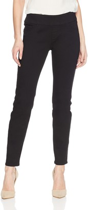 Lee Uniforms Lee Women's Slimming Fit Rebound Straight Leg Pull On Jean