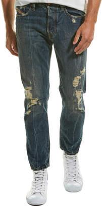 Diesel Mharky Dark Blue Slim Skinny Leg