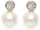 Finesse Pearl and Crystal Earrings