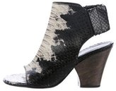 Zero Maria Cornejo Lea Peep-Toe Boots
