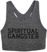 Spiritual Gangster Tech Crop Bra