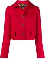 Dolce & Gabbana Cropped Single-Breasted Jacket