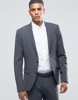 Selected Suit Jacket in Super Skinny Fit