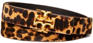 "Tory Burch 1"" Kira Leopard Belt"
