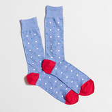 J.Crew Factory Small dot socks