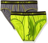 2xist Men's 2-Pack Performance Micro No Show Brief