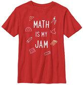 Fifth Sun Red 'Math Is My Jam' Crewneck Tee - Boys