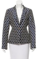 Kate Spade Polka Dot Notch-Lapel Blazer