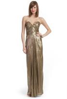 Badgley Mischka Born to be Bronze Gown