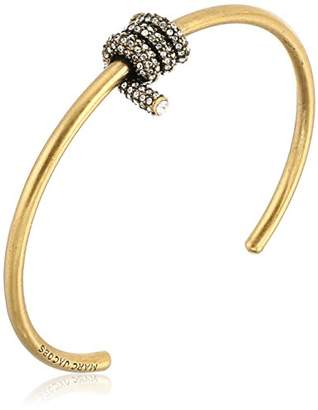 """Marc Jacobs Fall 2016"""" Pave Twisted Cuff Bracelet"""