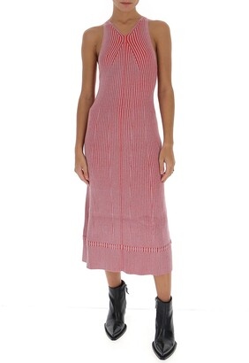 Proenza Schouler Ribbed Sleeveless Dress