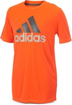 adidas Boys' Clima Performance Logo Tee