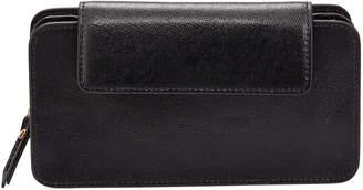 Neiman Marcus Saffiano Small Crossbody Bag