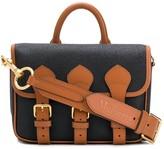 Acne Studios x Mulberry scotchgrain messenger bag