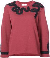 Derek Lam 10 Crosby embroidered sweatshirt